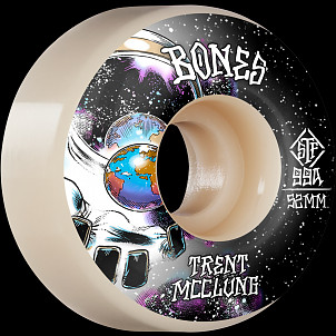 BONES WHEELS PRO STF Skateboard Wheels Trent McClung Unknown 52mm V1 Standard 99A 4pk