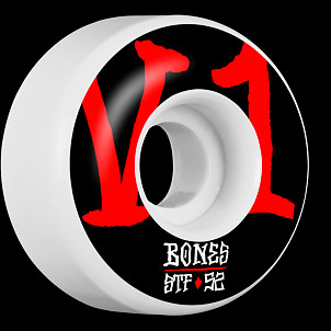 BONES WHEELS STF Annuals Skateboard Wheels V1 52mm 103A 4pk