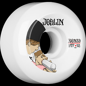 BONES WHEELS STF Pro Joslin London Skateboard Wheel V5 53mm 103A 4pk