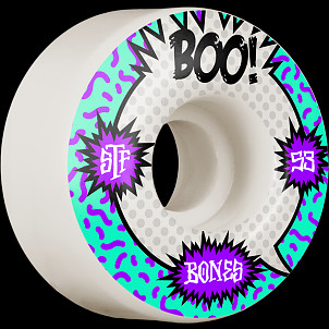 BONES WHEELS PRO STF Skateboard Wheels Boo Raps 53mm V4 Wide 103A 4pk