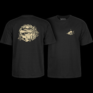 BONES WHEELS Desert Bowl T-shirt Black