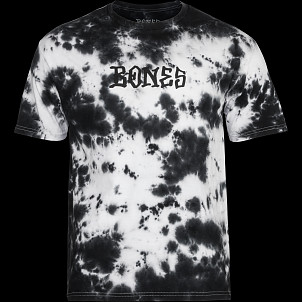 BONES WHEELS Micaiah Deep Dye T-shirt White