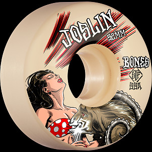 BONES WHEELS PRO STF Skateboard Wheels Joslin GOAT 52mm V3 Slims 99a 4pk