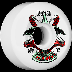BONES WHEELS SPF Pro Tony Hawk Talon Skateboard Wheels P5 Sidecut 58mm 104A 4pk