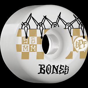 BONES SPF Tiles 56x37 P2 Skateboard Wheel 81B 4pk