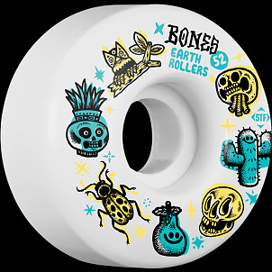 BONES WHEELS STF Earth Rollers V1 52MM 103A