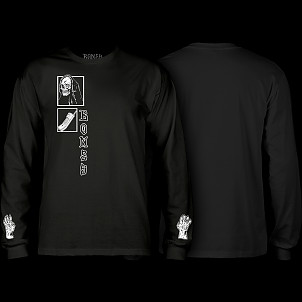 BONES WHEELS Terror Nacht Creeper Longsleeve T-shirt Black