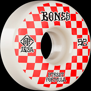 BONES WHEELS STF Skateboard Wheels Patterns 52 V3 Slims 103A 4pk
