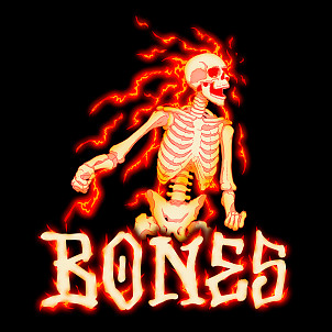 BONES WHEELS Blazer Sticker Single