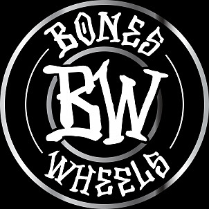 "BONES WHEELS Branded 6"" Sticker 20 pack"
