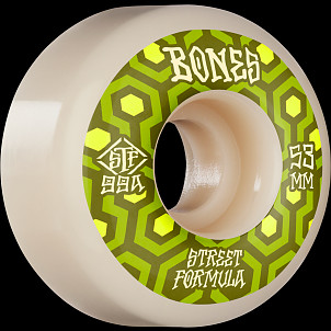 BONES WHEELS STF Skateboard Wheels Retros 53mm V1 Standard 99A 4pk