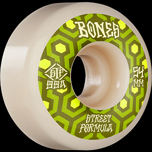 BONES WHEELS STF Skateboard Wheels Retros 54mm V1 Standard 99A 4pk