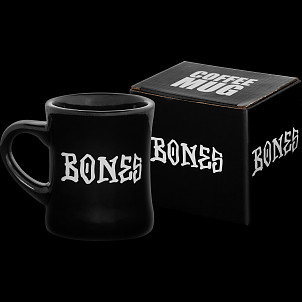 BONES WHEELS Mug/Pen Holder Home School'd Black