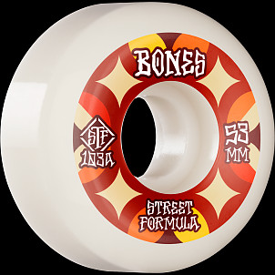 BONES WHEELS STF Skateboard Wheels Retros 53 V5 Sidecut 103A 4pk