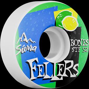 BONES STF Pro Fellers Mist 52x29 V3 Skateboard Wheel 83B 4pk