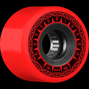 BONES WHEELS ATF Rough Rider Tank Skateboard Wheels 59mm 80a 4pk Red