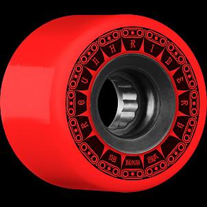 BONES WHEELS ATF Tank Skateboard Wheel 59mm 80a 4pk Red