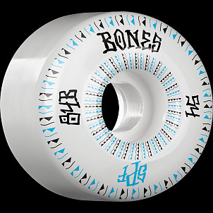 BONES WHEELS SPF Linears Skateboard Wheels 84B 54mm 4pk White P2 Fatties