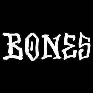 "BONES WHEELS BONES 12"" Sticker 10pk"