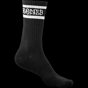 BONES WHEELS Socks Home School'd Black