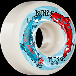 BONES WHEELS PRO STF Skateboard Wheels Tucker Big Fish 52mm V1 Standard 103A 4pk
