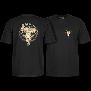 BONES WHEELS Desert Ditch T-shirt Black