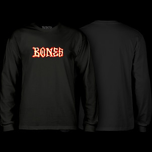 BONES WHEELS Blazer Longsleeve T-shirt Black