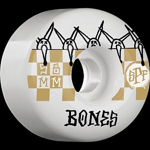 BONES SPF Tiles 58x37 P2 Skateboard Wheel 81B 4pk