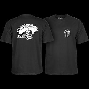 BONES WHEELS Night Mare T-shirt - Black