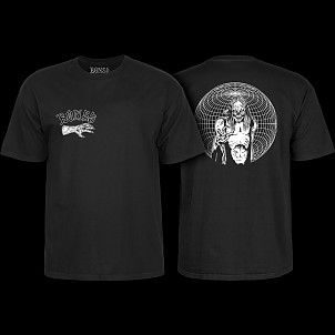 BONES WHEELS Terror Nacht  Nightmare T-shirt Black
