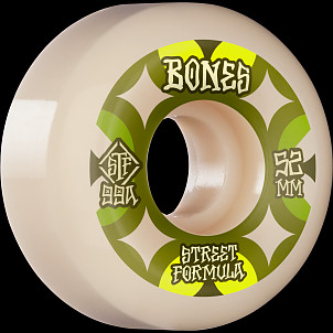 BONES WHEELS STF Skateboard Wheels Retros 52mm V5 Sidecut 99A 4pk