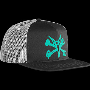 BONES WHEELS Cap Puff Black/Mint