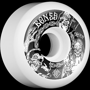 BONES WHEELS STF Terror Nacht Skateboard Wheels V5 54mm 103A 4pk