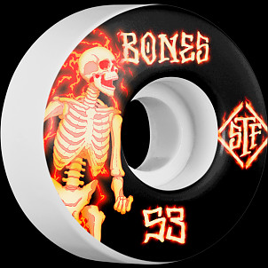BONES WHEELS STF Blazer Skateboard Wheels V1 53mm 103A 4pk