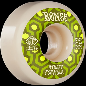 BONES WHEELS STF Skateboard Wheels Retros 52 V1 Standard 99A 4pk