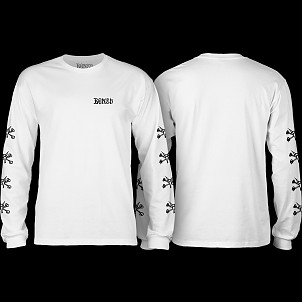BONES WHEELS L/S T-shirt Steve White