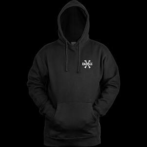 BONES WHEELS Hooded Sweatshirt Cross Bones Black