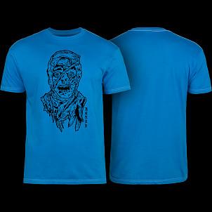 Bones Wheels Time Beasts Mummy T-shirt Blue
