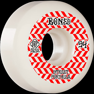 BONES WHEELS STF Skateboard Wheels Patterns 54 V5 Sidecut 103A 4pk