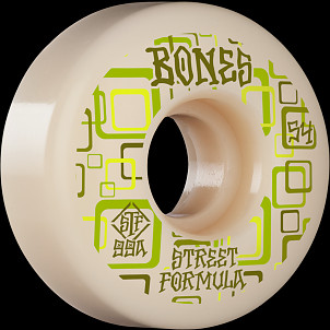 BONES WHEELS STF Skateboard Wheels Retros 54mm V3 Slims 99A 4pk