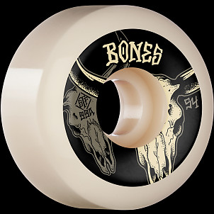BONES WHEELS STF Formula Skateboard Wheels Desert Horns 54mm V5 Sidecut 99A 4pk