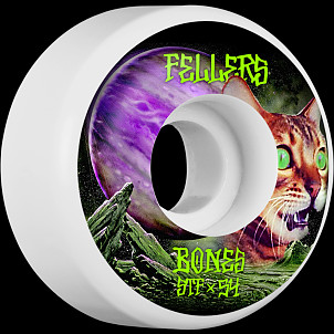BONES WHEELS STF Pro Fellers Galaxy Cat Skateboard Wheel V3 54mm 103A 4pk