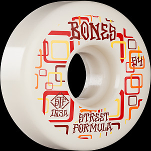 BONES WHEELS STF Skateboard Wheels Retros 54 V3 Slims 103A 4pk