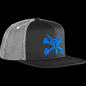 BONES WHEELS Cap Puff Black/Blue