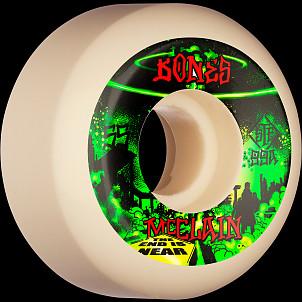 BONES WHEELS PRO STF Skateboard Wheels McClain Apocalypse 55mm V5 Sidecut 99a 4pk