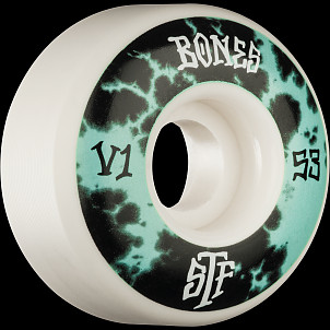 BONES WHEELS STF Deep Dye Skateboard Wheel V1 53mm 103a 4pk