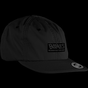 BONES WHEELS Cap Embonessed Black
