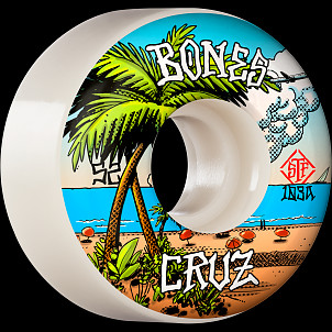BONES WHEELS PRO STF Skateboard Wheels Cruz Buena Vida 52mm V2 Locks 103A 4pk