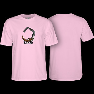 BONES WHEELS T-shirt Scorpion Pink
