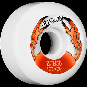 BONES WHEELS SPF Pro Kowalski Crab Skateboard Wheels P5 Sidecut 54mm 104A 4pk